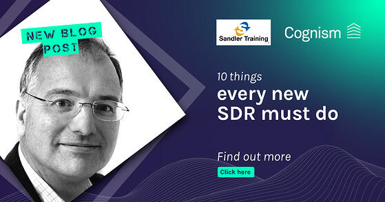 10 things every new SDR must do