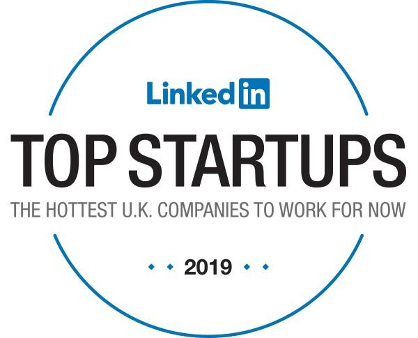 LinkedIn-Top-25-StartUp-Badge