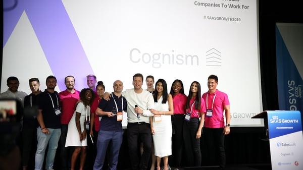 Cognism Saasgrowth 2019