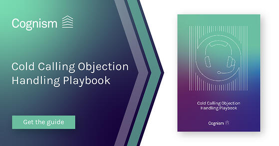 Cold Calling Objection Handling Playbook