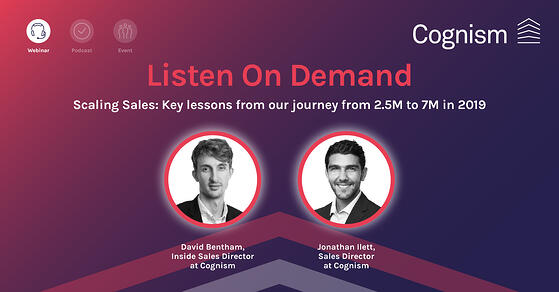 Scaling Sales Key lessons from our journey from 2.5 to 7M-1