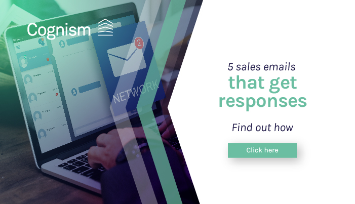 5 sales emails that get responses: Cognism