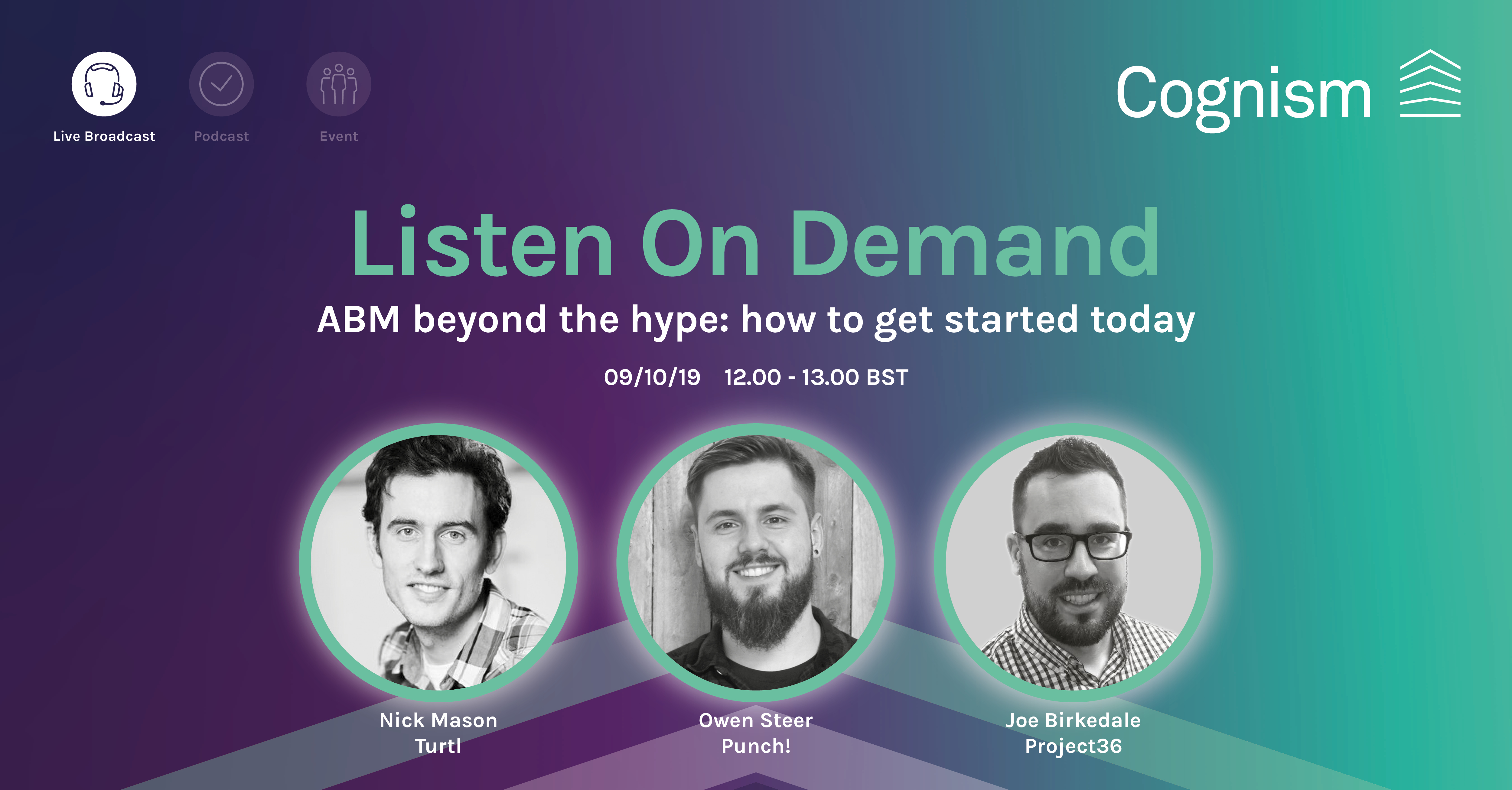 ABM beyond the hype live webinar