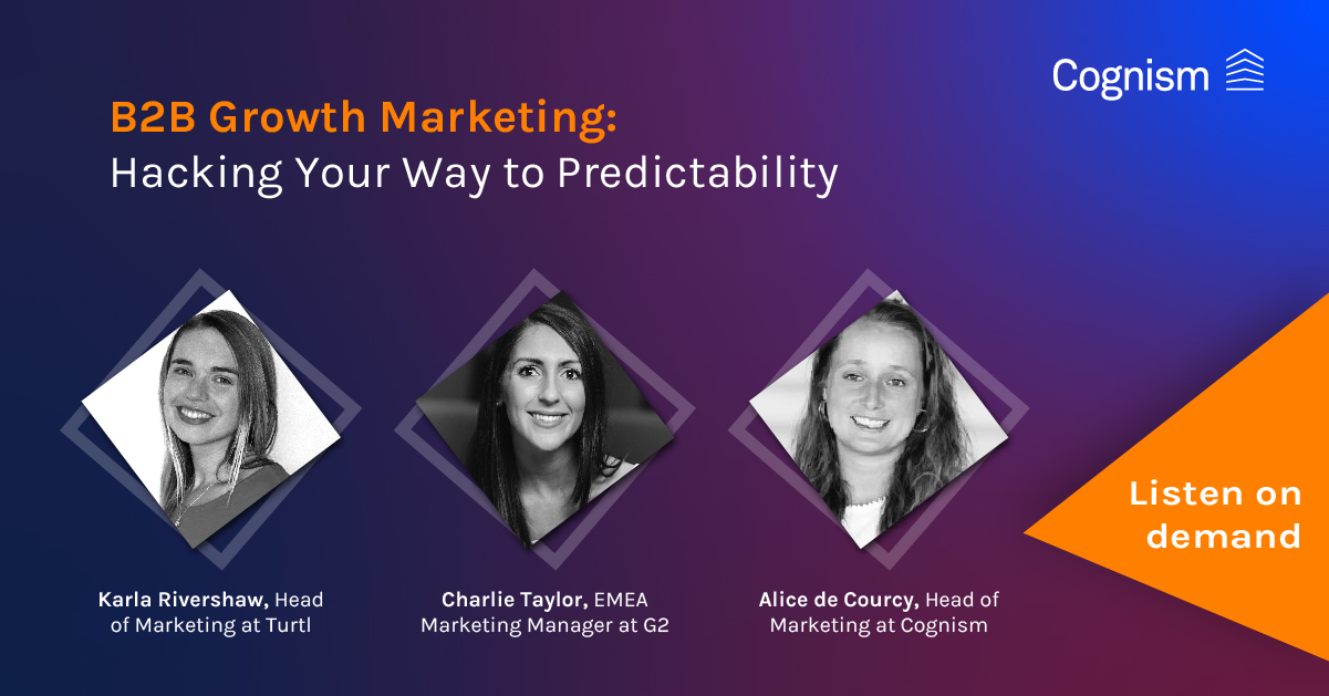 B2B Growth Marketing Webinar: Cognism
