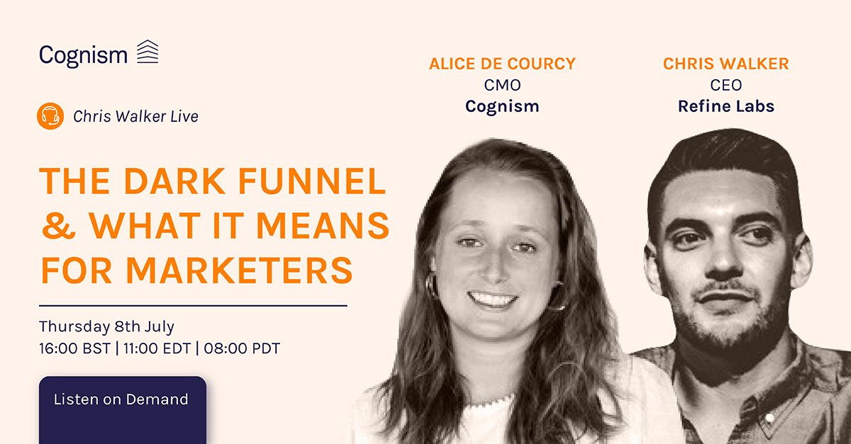 Chris Walker Live The Dark Funnel & What It Means for Marketers V1_Social media banner copy 16