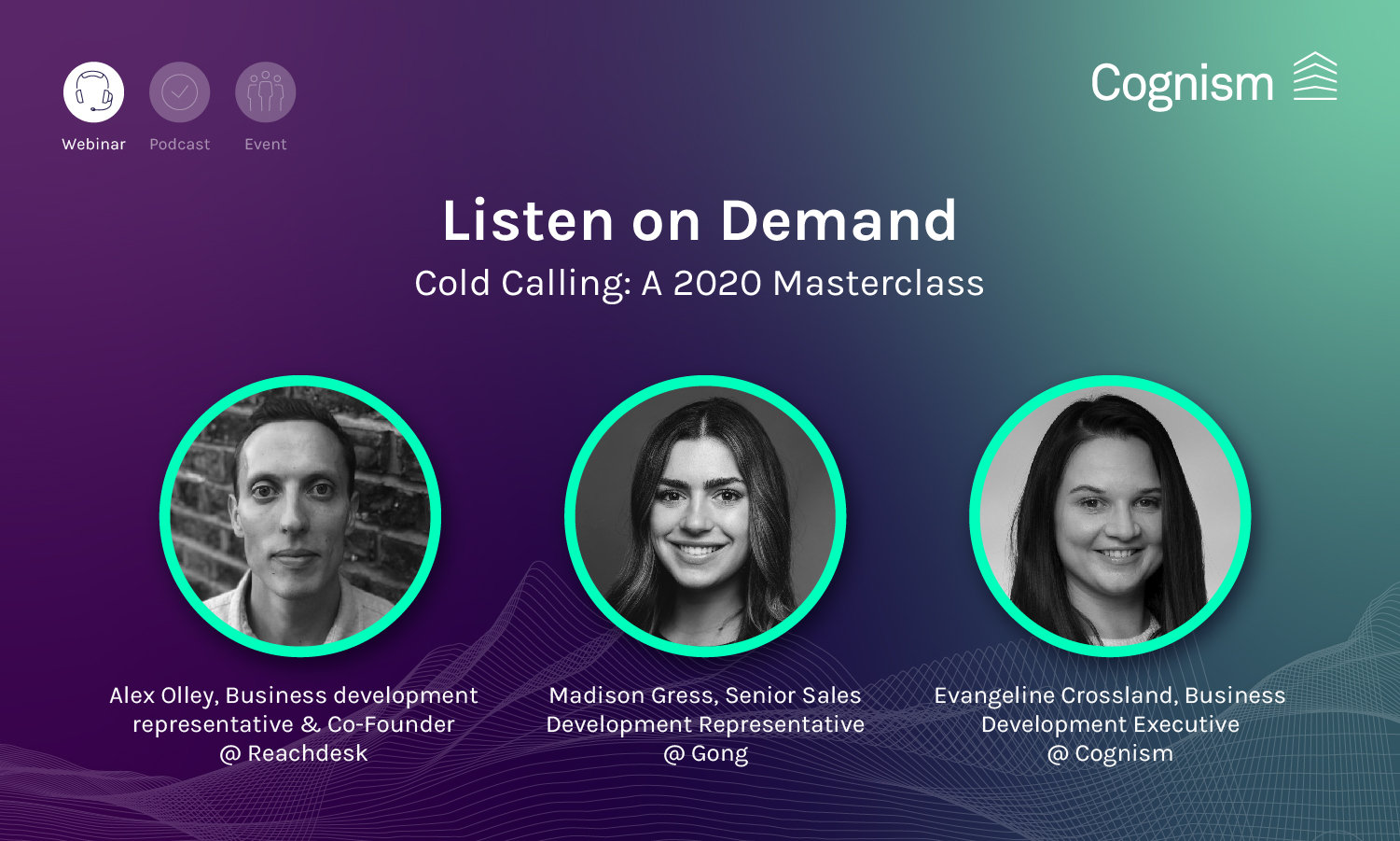 Cold Calling - A 2020 Masterclass - Learn from the best V1 FINAL_Email banner copy 4-1