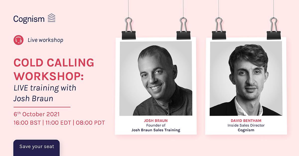Cold Calling Workshop - LIVE training with Josh Braun V1-01