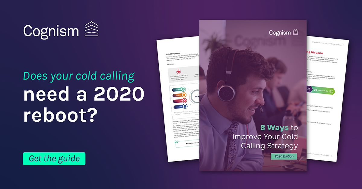 Cold Calling strategy 2020