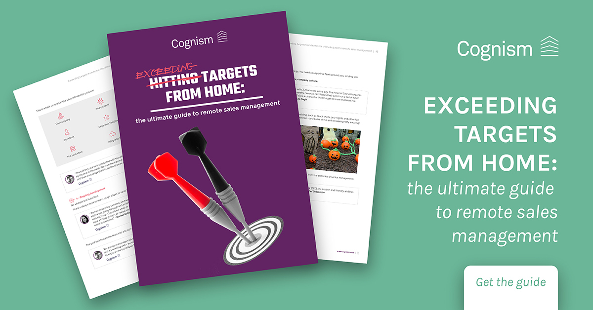 Exceeding targets from home - the ultimate guide to remote sales management