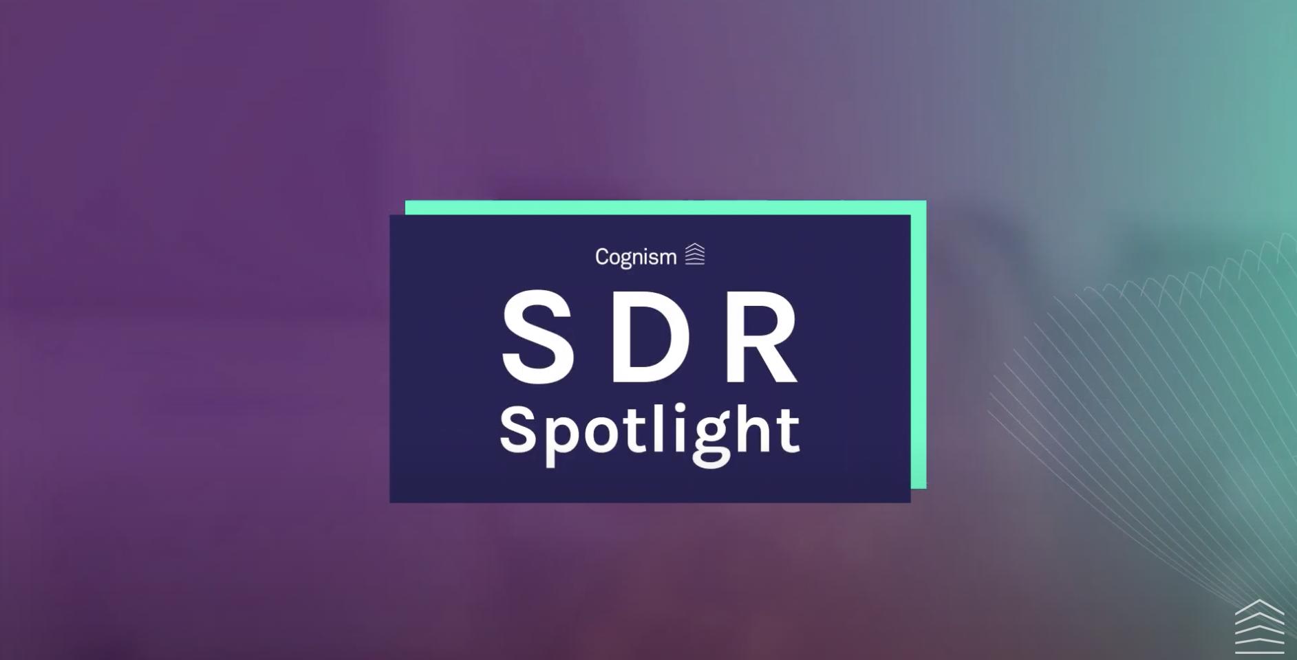 SDR Spotlight