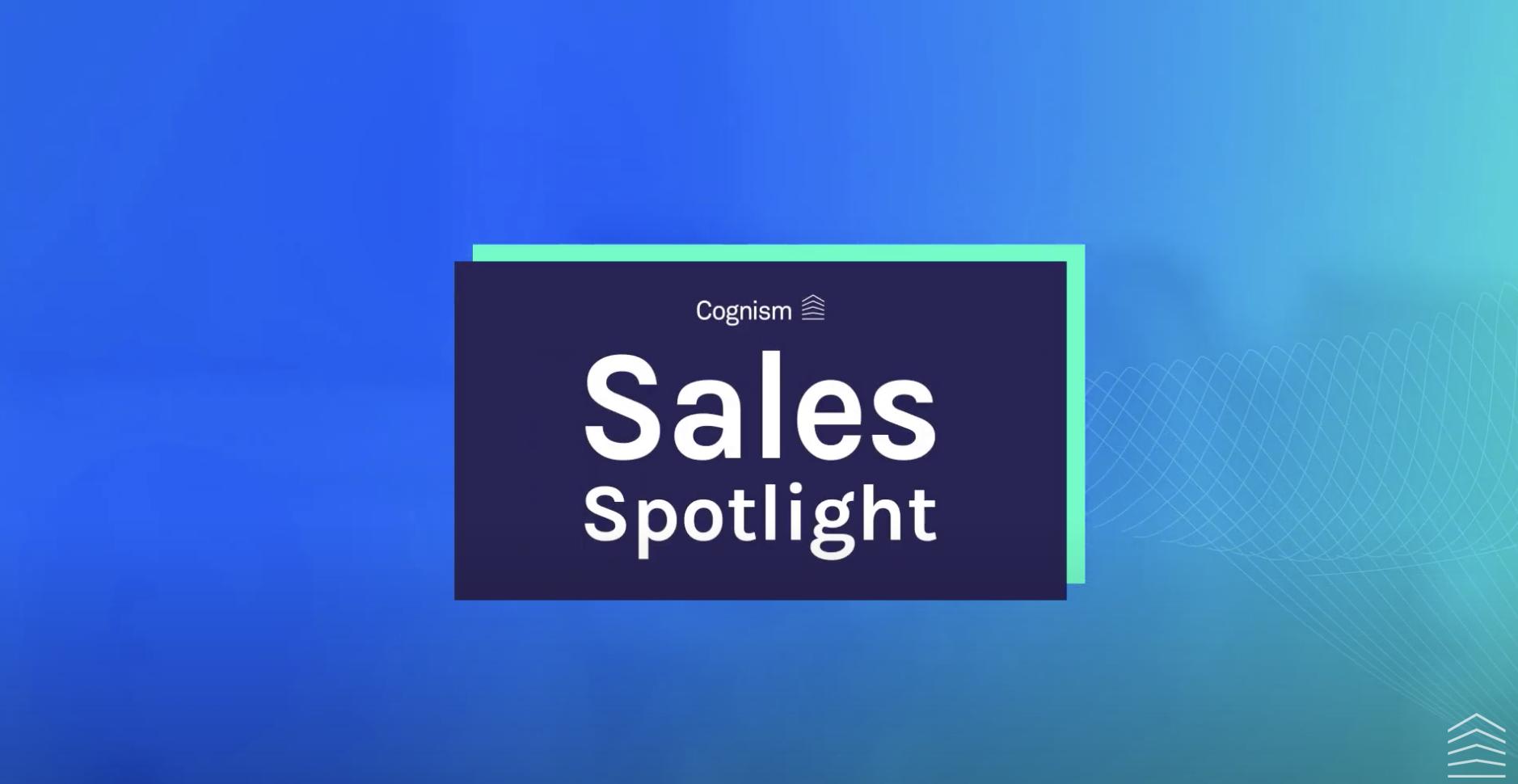 Sales Spotlight