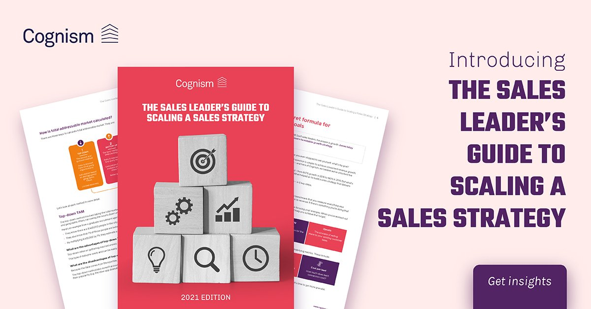 The Sales Leader's Guide to Scaling a Sales Strategy
