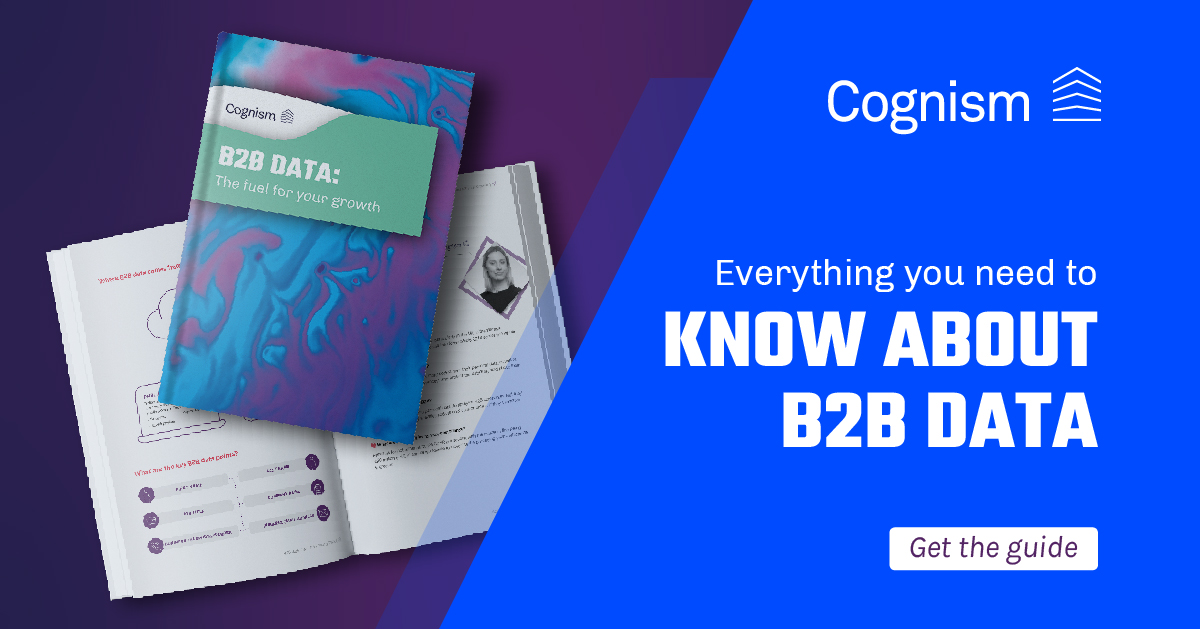 B2B Data Cognism Guide