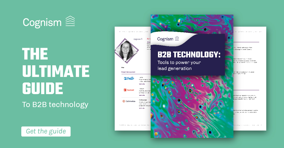 The ultimate guide to B2B technology: Cognism