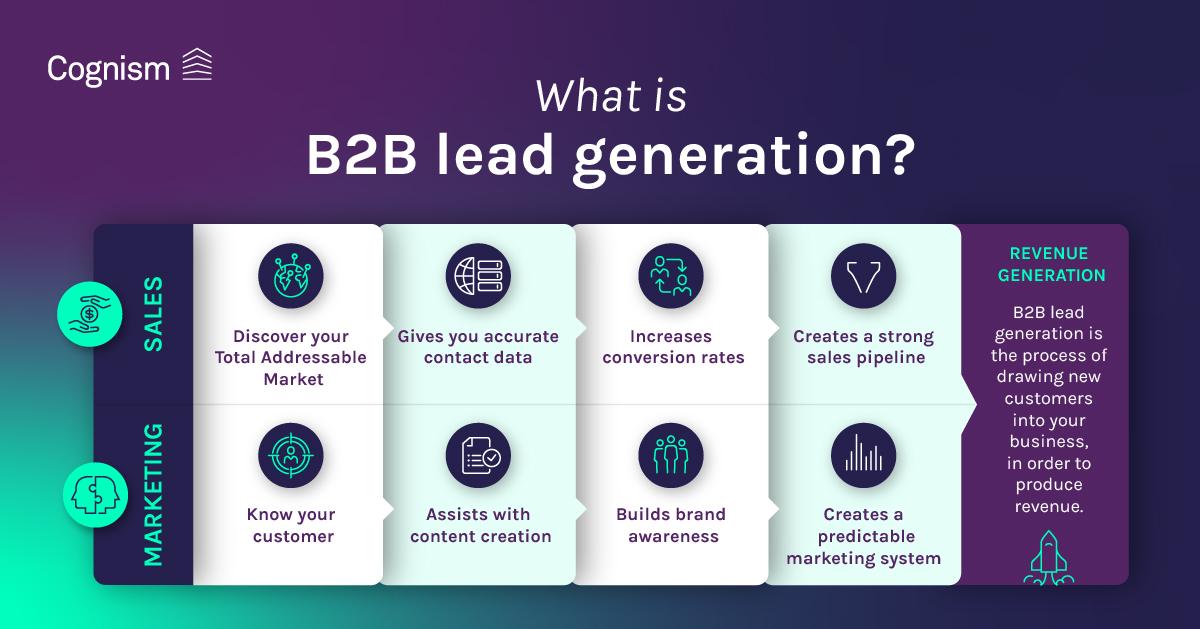 What is B2B lead generation LI