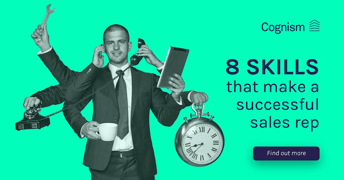 8 skills that make a successful sales rep