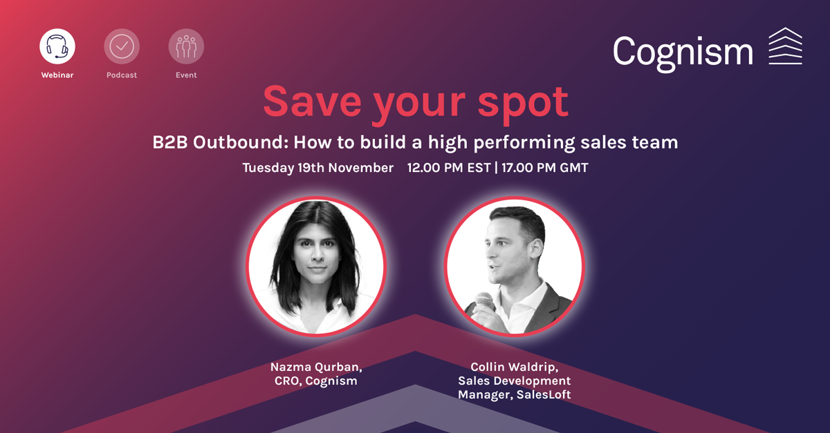 B2B outbound: How to build a high-performing sales team